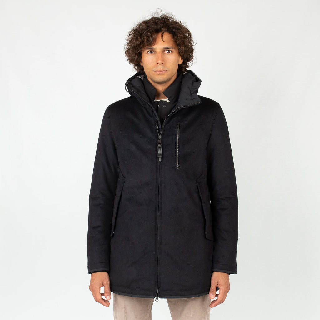 Parka 'Shield' - Blu Notte