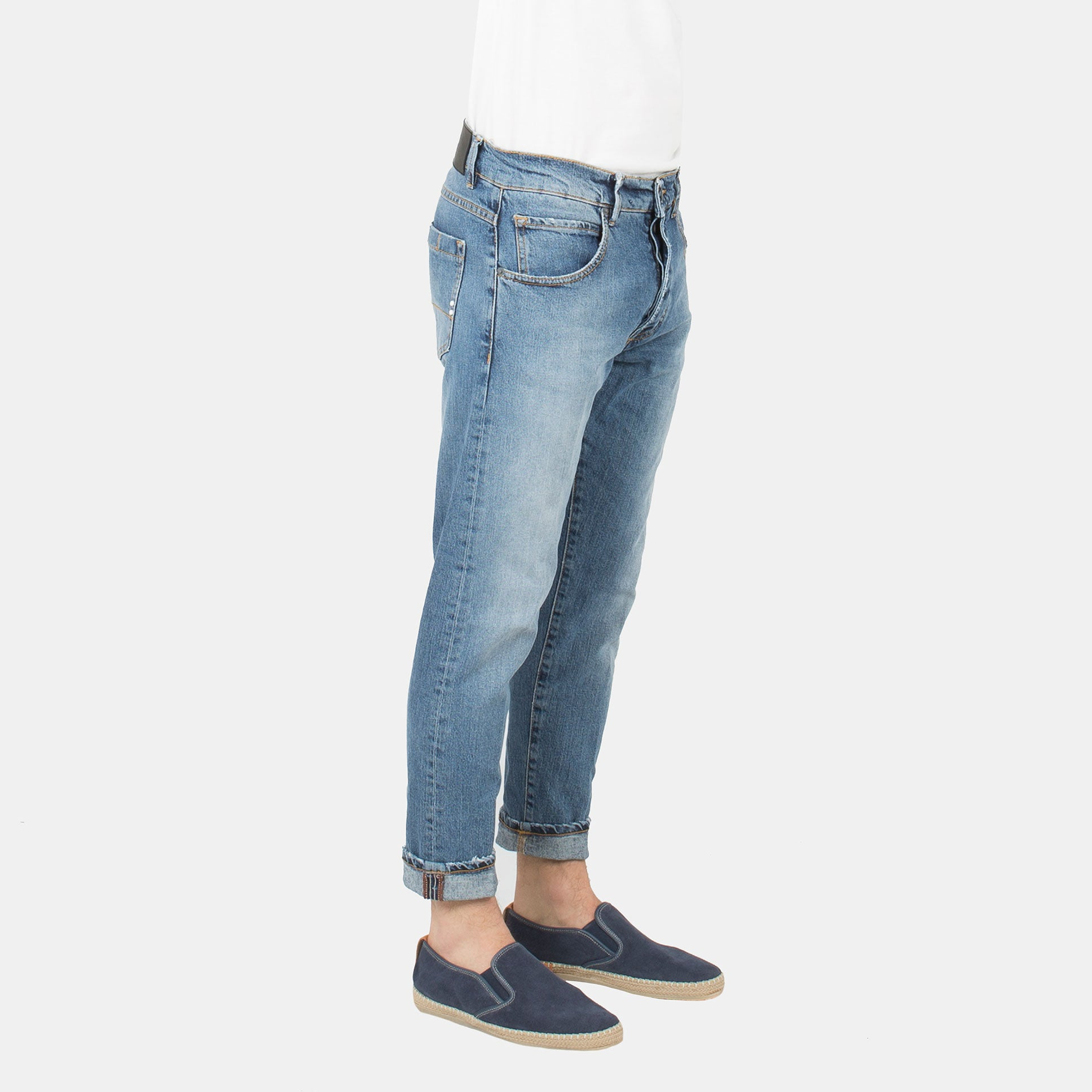Denim 'FARRAN' - Denim Medio