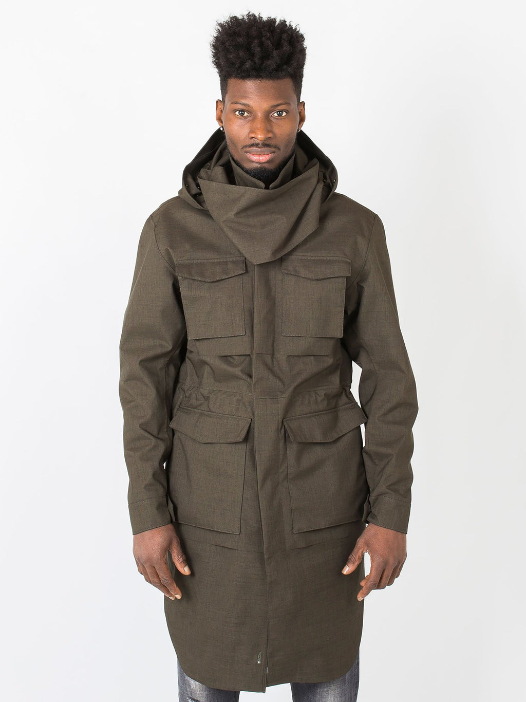 Hybrid Homme - Mixed Army Green