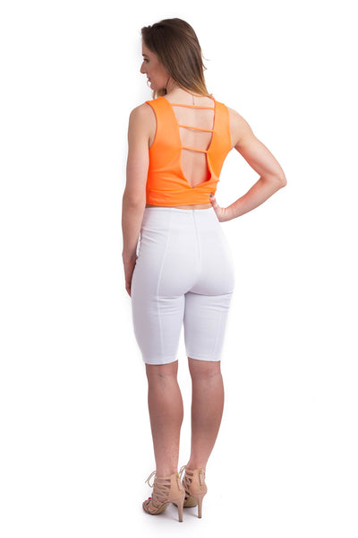 Karly High Waisted Capri