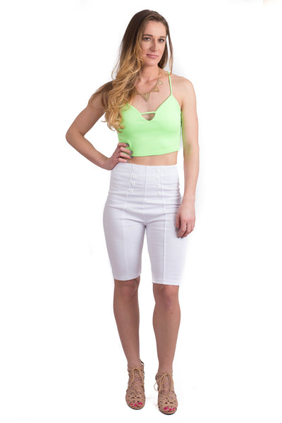 Laine Mint Crop Top