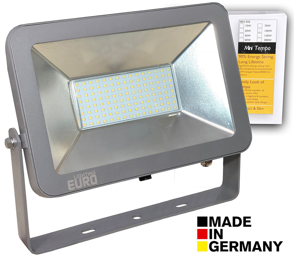 Euro Tempo 100 Watts 500 Watts Led Outdoor Flood Light Heavy Aluminium Die Cast Enclosure White Focus Waterproof Ip65 High Power Smd Led