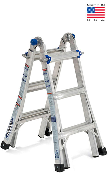 Terrific Werner Usa Mt Series Model 13 3Ft To 12Ft Aluminium Step Ladder Multi Folding 24 In 1 Squirreltailoven Fun Painted Chair Ideas Images Squirreltailovenorg