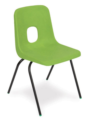 ES Two Piece Polypropylene Chair on Metal Frame