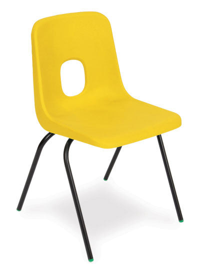 ES One Piece Polypropylene Chair on Metal Frame
