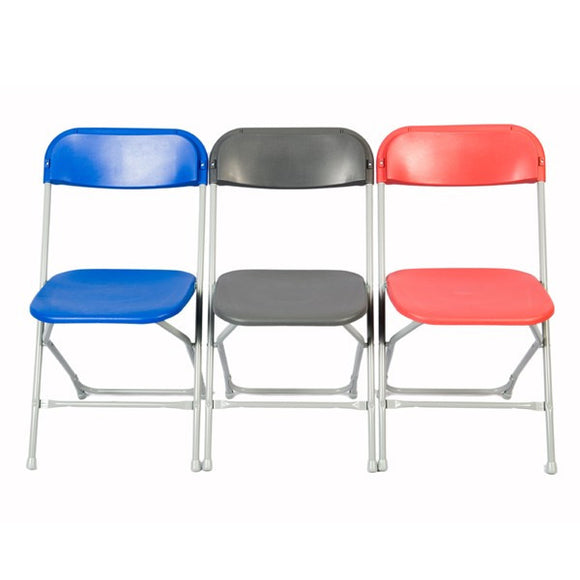 Straight Back Folding Chairs