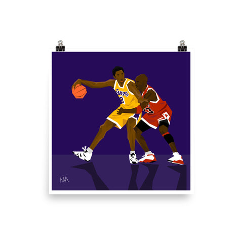 Confused Admiration | RIP Kobe - High Quality Print