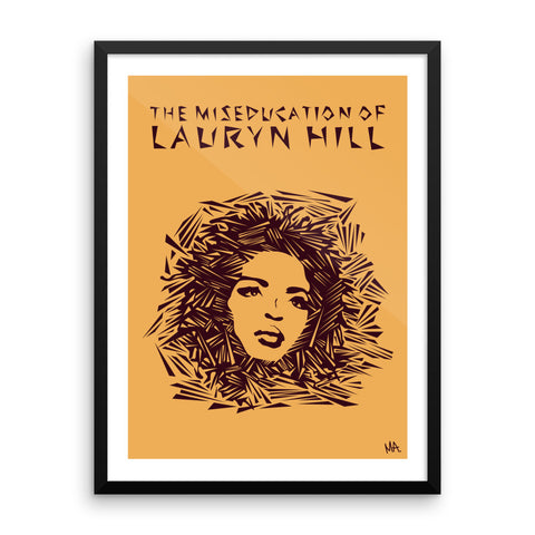 The Miseducation of Lauryn Hill - Framed