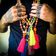 Festival Fun Mala Necklaces by IndiOdyssey
