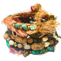 Boho Hippie Trio of Bangles