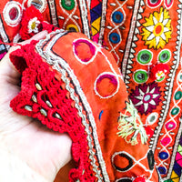 A traditional style of blouse (kanchli or choli) from the Banjara nomadic tribe of Rajasthan.