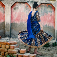 Gopi Skirt Outfit (Ready-made, Med)