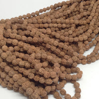 8mm Natural Rudraksha Bulk Wholesale