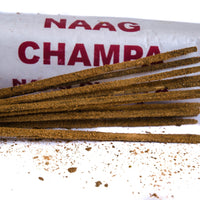Hand Rolled Incense Sticks Naag Champa