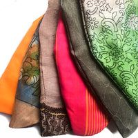 Japa Mala Prayer Bags From Recycled Saris by IndiOdyssey