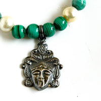 Kali Necklace Throat Chakra