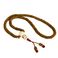 Rudraksha Bodhi Bead and conch shell  108 Mala