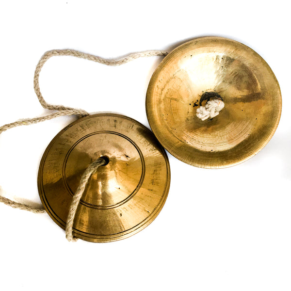 Small Hand Cymbals Kartals for Kirtan IndiOdyssey