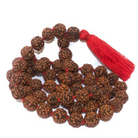 Large Rudraksha Necklace IndiOdyssey