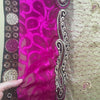 Purple & Beige Recycled Sari for sale by IndiOdyssey®