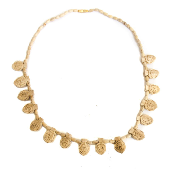 16 Leaf Radha Tulsi Necklace