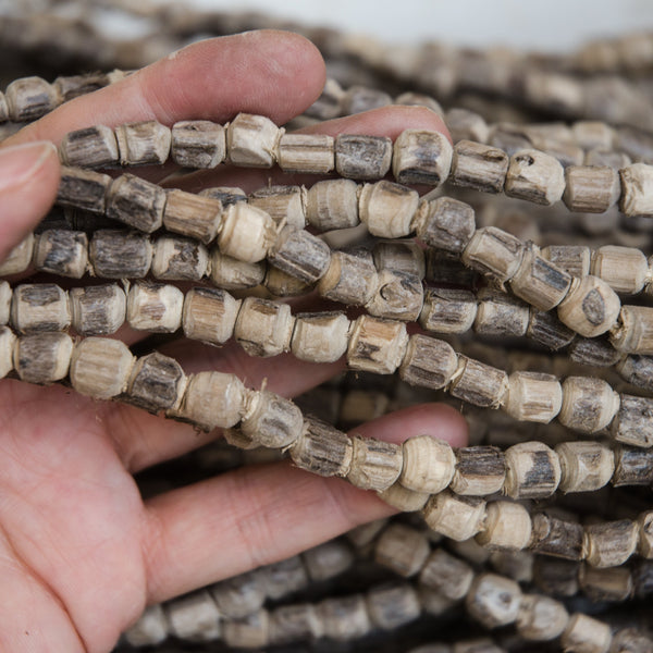 Rough Hewn Tulsi Beads