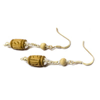 Radha Tulsi Dangle Earrings