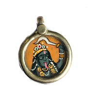 Miniature Painting of Kali Charm