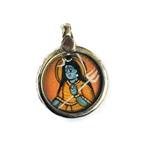 Miniature Painting of Shiva Charm by IndiOdyssey