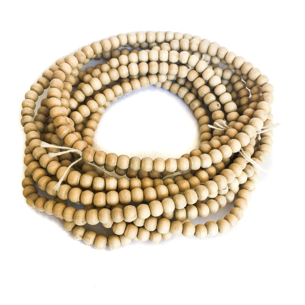7mm Tulsi Beads, Round, Premium (5 strands)