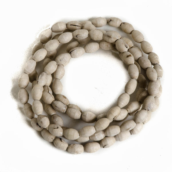 Large Barrel Tulsi Beads