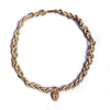 Lotus Feet Tulsi Kanthi Choker Necklace