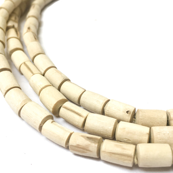 IndiOdyssey Natural Rough Tulsi Necklace 3-Wrap