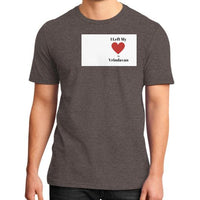 District T-Shirt (on man) Heather brown Indiodyssey