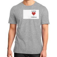 District T-Shirt (on man) Heather grey Indiodyssey