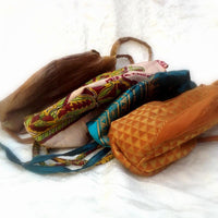 Japa Mala Prayer Bags From Recycled Saris
