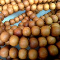 12mm Sandalwood Beads