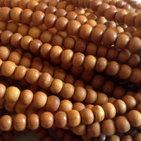 7mm Sandalwood Beads