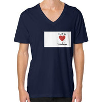 V-Neck (on man) Navy Indiodyssey