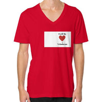 V-Neck (on man) Red Indiodyssey