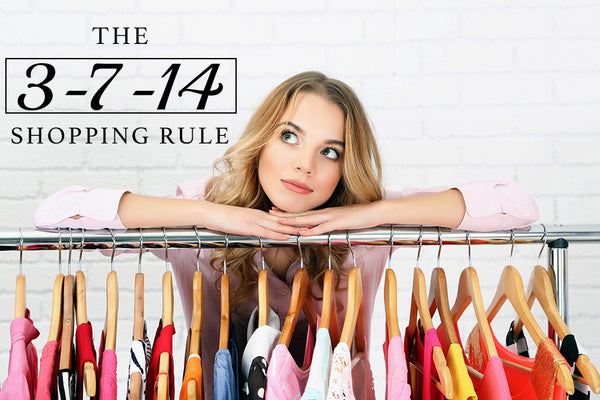 The 3-7-14 Shopping Rule