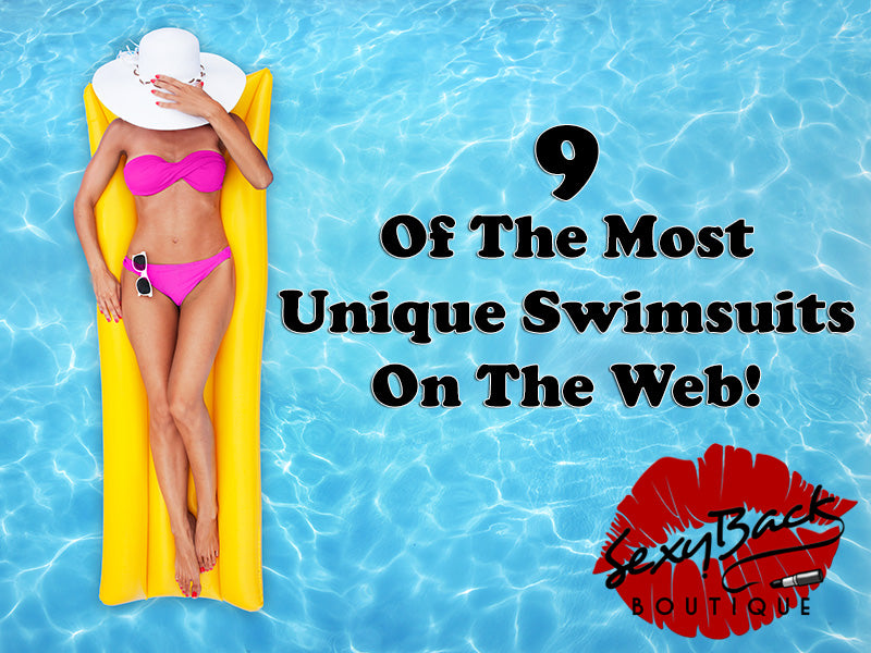 9 Of The Most Unique Swimsuits On The Web!