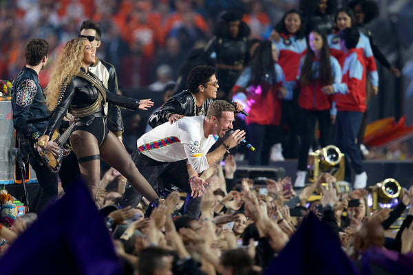 Beyonce, Coldplay, and Bruno Mars Super Bowl 50