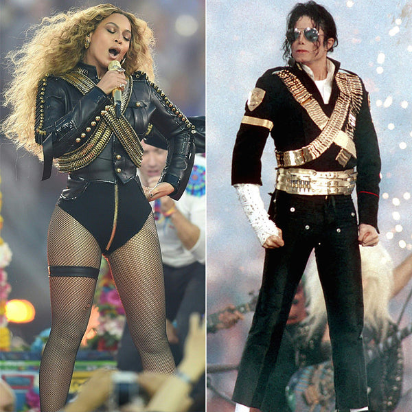 Beyonce Super Bowl 50 Micheal Jackson Inspired Outfit