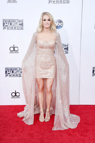 Carrie Underwood's Outfit On The Red Carpet