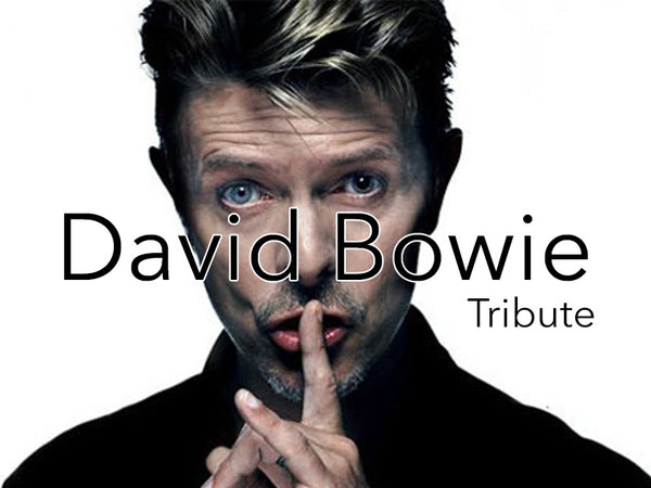 David Bowie Tribute - Runway Model Pays Tribute