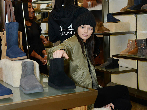 Kendall Jenner Buying UGG's