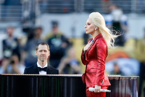 Lady Gaga Super Bowl 50 Outfit