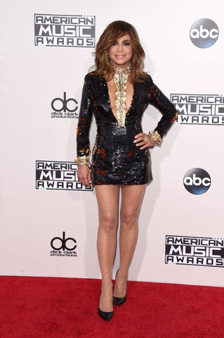Paula Abdul's Outfit On The Red Carpet