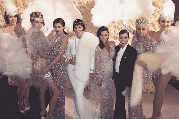 What Celebrities Wore To Kris Jenner's 60th Birthday Party